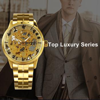 WINNER Men's Skeleton Dress Automatic Mechanical Watches 1