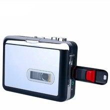 Novo leitor de cassetes usb walkman cassete fita de música de áudio para mp3 converter player salvar arquivo mp3 para flash usb/usb drive