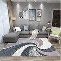 Пользовательские скандинавский стиль Абстрактные Художественные ковры для гостиной высокое качество геометрические прямоугольные ковры ...