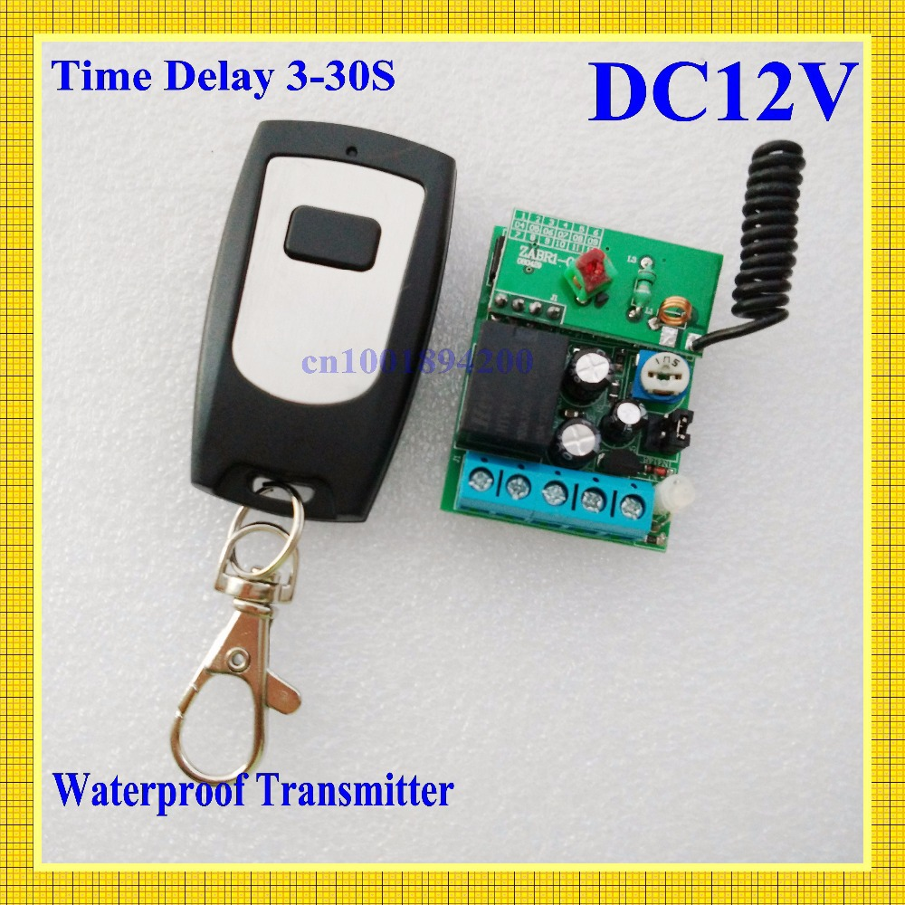 DC12V Door Access/Entery Guard Gateway Electric Control Lock  Wireless Control Switch System Momentary Time Delay 3-12S Adjusted чулок д щитков nike guard lock elite sleeve su12 se0173 011 s чёрный