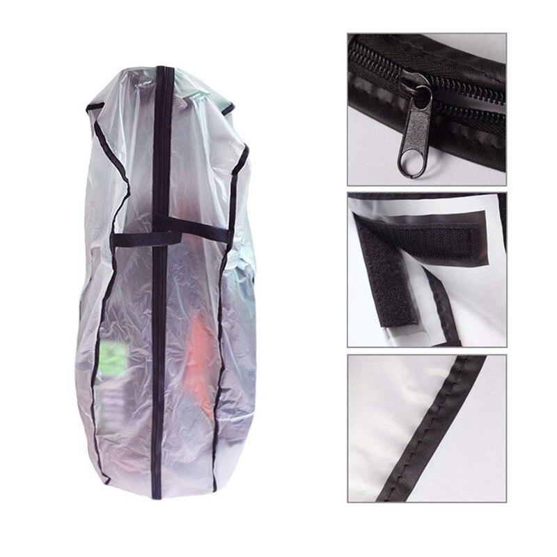 PVC ماء حقيبة غولف هود غطاء للمطر درع في الهواء الطلق الغولف القطب غطاء حقيبة الغبار دائم غطاء ملعب للجولف اكسسوارات
