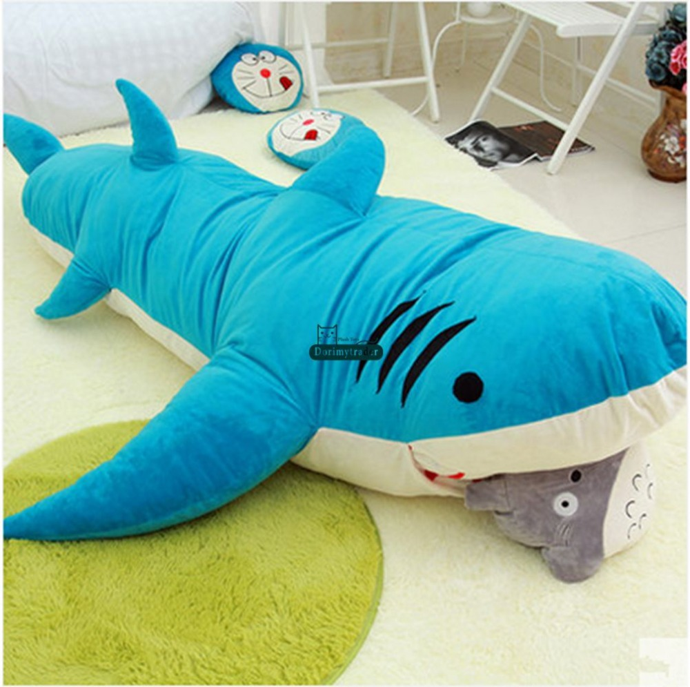 Aliexpress.com : Buy Dorimytrader Cartoon Animal Shark Beanbag Giant Plush  Soft Sharks Toy Sleeping Bag Tatami Sofa Mat 2 Sizes Free Shipping DY60496  from ...