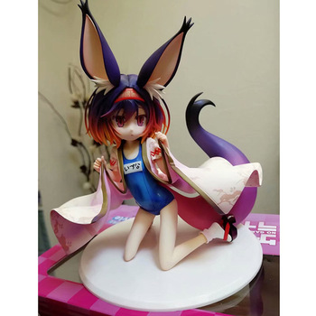20CM Japanese anime figure NO GAME NO LIFE  Hatsuse Izuna swimsuit ver aciton figure collectible model toys for boys