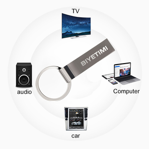 Image 3 - Metal Key Ring USB Flash Driver 64gb 32gb 16gb portable PenDrive Real Memory Capacity Pen drive Storage flash disk