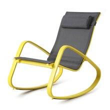Мода Высокое качество открытый балкон стул Защита от солнца лежак кресло-качалка мягкие для отдыха удобные кресло бытовой Мебель