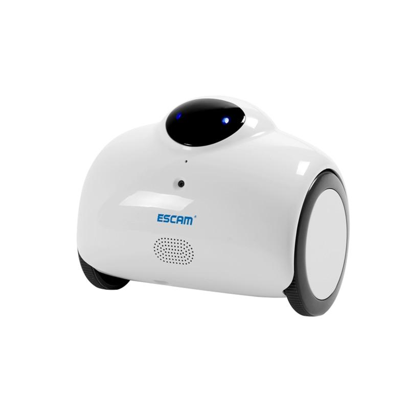 ESCAM 720 P Robot caméra WIFI IP caméra sans fil IP réseau caméra bébé moniteur Interaction tactile caméra prise en charge Audio 2 voies