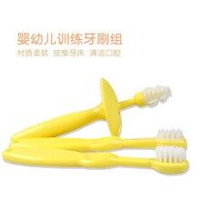Chick kaldi baby training toothbrush child toothbrush belt 3 kd3066