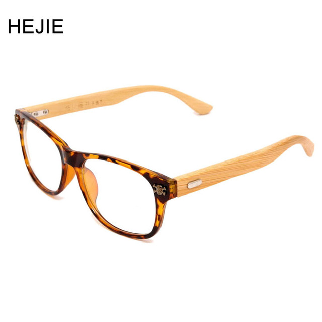 Fashion Men Women Acetate&Wood Eyeglasses Frames Hand Made Bamboo ...