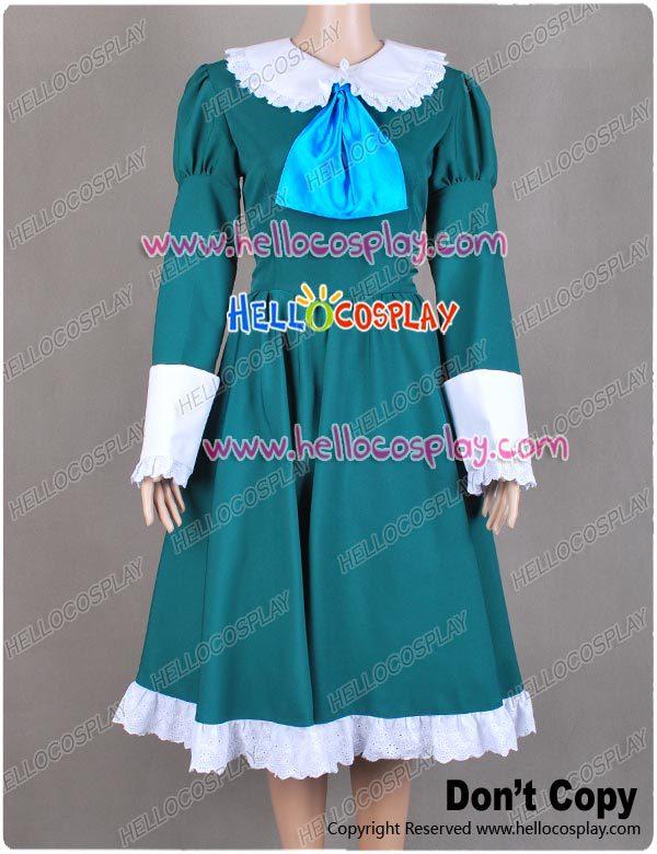 IB Mary a Garry hra Mary Cosplay kostýmy zelené šaty H008