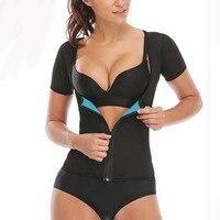 Body shaper Tops Women Neoprene tummy shapers Hot Black Blue Slimming Waist Shapewear Fitness Women Intimates Clothing Slim Wear