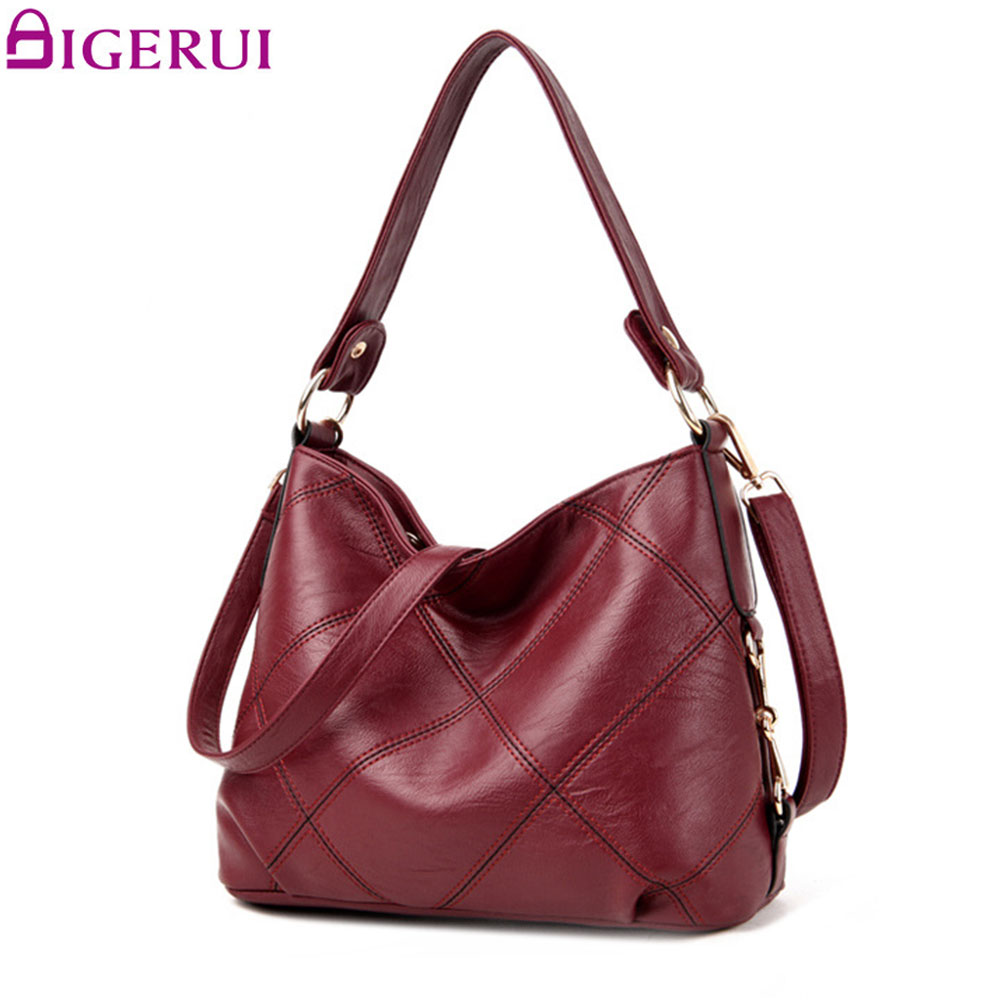 DIGERUI Famous Brands Female Embroidery Casual Big Shoulder Bag Tote For Girls SAC A MAIN Women Handbag A2911 tuladuo new lady shoulder bags women famous brands handbags female embroidery casual big crossbody bag tote for girls sac a main