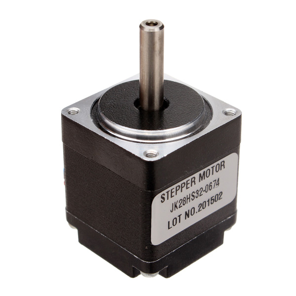 NEMA11 1.8 Degree 28 Hybrid Stepper Motor Two Phase 4 Wires 32mm For CNC Router New new leadshine m415b cnc router analog hybrid stepper drives 40v 1 5a for 2 phase 4 phase motor sm023 sd
