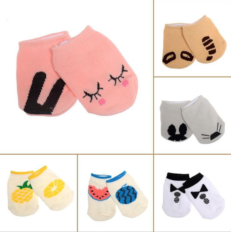 Unisex Baby socks floor boys girls kids Children cute animal rabbit infant cartoon cotton kawaii Anti-skid toddlers slippers