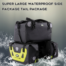 цены Ao qile Motorcycle Waterproof Bag Tank Bags Kit Knight Rider Multi-Function Portable Bags Luggage Universal Saddle Bag for