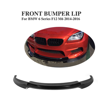 Carbon Fiber Car Front Bumper Lip Spoiler für BMW 6 Series F12 M6 Basis Cabrio/Coupe 2014-2016