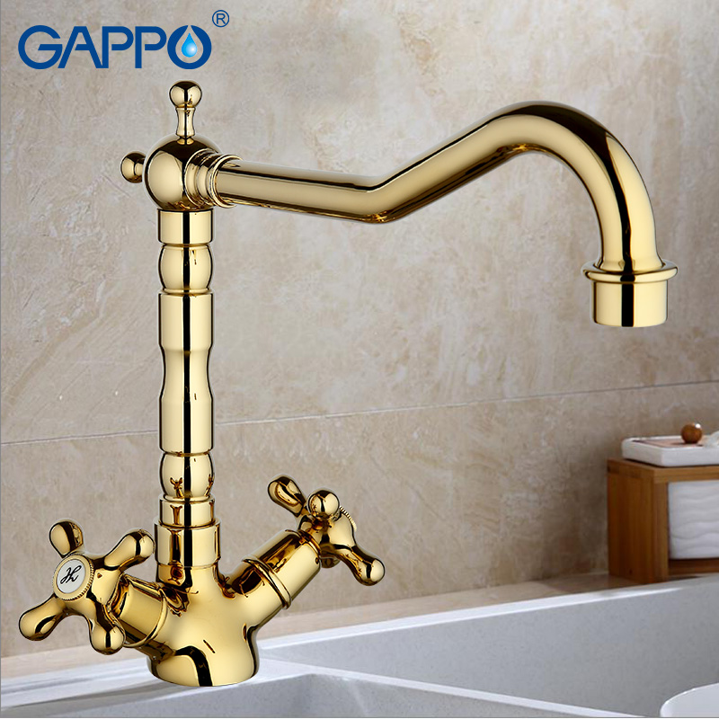 GAPPO 1set water filter taps brass kitchen faucets drinking filter purified water taps mixer colored Kitchen mixer Tap G4063-4/6 смеситель gappo g1063 6