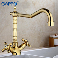 GAPPO 1set Water Filter Taps Brass Kitchen Faucets Drinking Filter Purified Water Taps Mixer Colored Kitchen