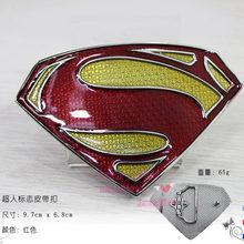 897fa8d1c3ae 16 styel Super-Héros Logo En Forme de S Boucles De Ceinture En Alliage de  Zinc argent couleur Boucles De Ceinture Film Superman .