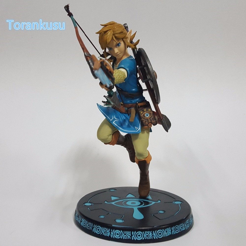 The Legend of Zelda Action Figure 320MM Game Zelda Link Breath of the Wild Collectible Model Toy Legend of Zelda Toys LZ02 legend of zelda action figure toys 10cm pvc nintendo 3ds zelda manga figma zelda link vinyl doll