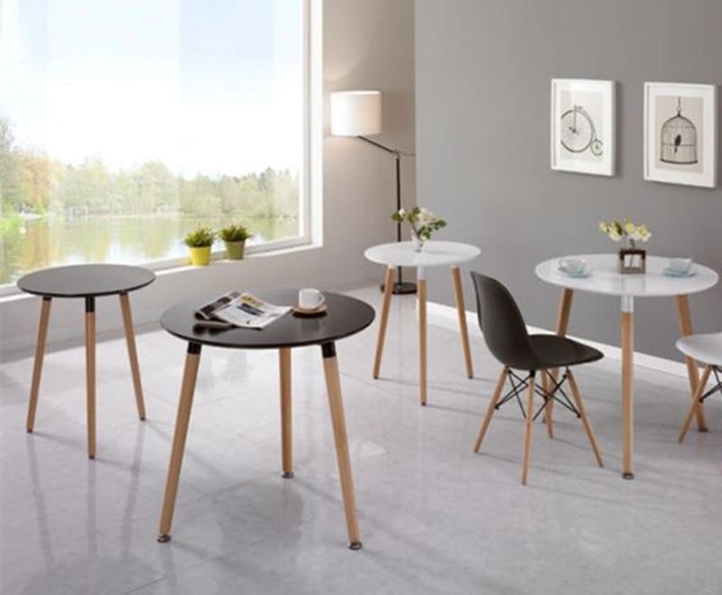 Chat Kombination von festen holz ikea nordic runde tische und stühle ...