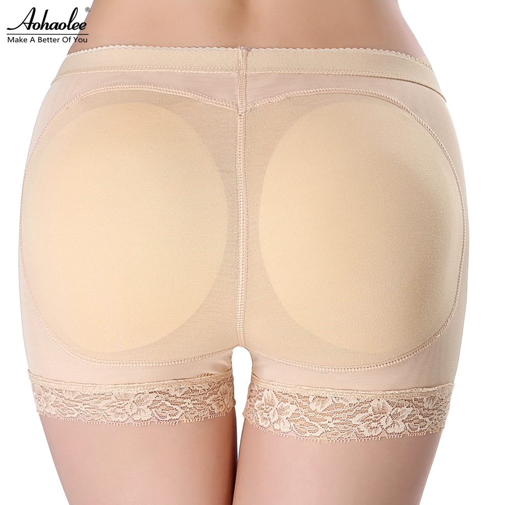ffba7ad7a8f47 Aohaolee Sexy Padded Butt Lifter Butt Enhancer Hot Body Shapers Butt  Shapers Women Butt Booty Lifter With Tummy Control Panties-in Control  Panties from ...