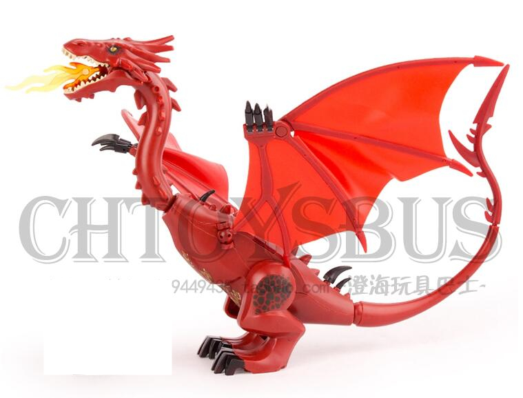 Smaug The Lord of the Rings Hobbits Figure Building Bricks Blocks Toy Lepin PG