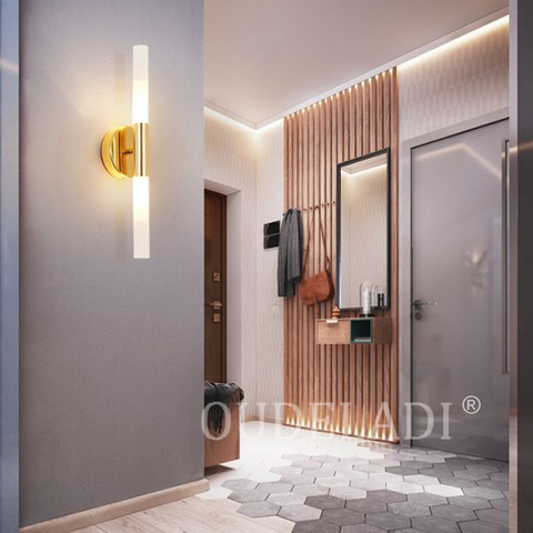 sala estar banheiro lampada luz parede