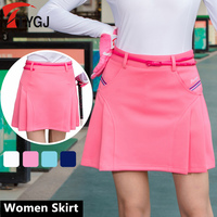 New Women Skort Golf Skirt Ladies Short Skirt Summer Badminton Sports Skirt Pleated School Tennis Skirts