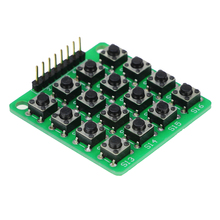 8pin 4×4 Matriz 4*4 16 Teclas do Teclado Botão Do Teclado Placa De Ensaio Módulo de Mcu para arduino Diy Kit