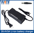 29.4V3A Charger 7S 24V li-ion battery Charger Output DC 29.4V With cooling fan Free Shipping