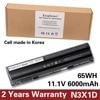 KingSener Korea Cell 65WH N3X1D Laptop Battery For DELL Latitude E5420 E5430 E5520 E5530 E6420 E6520