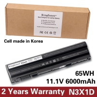 KingSener Korea Cell 65WH N3X1D Laptop Battery For DELL Latitude E5420 E5430 E5520 E5530 E6420 E6520