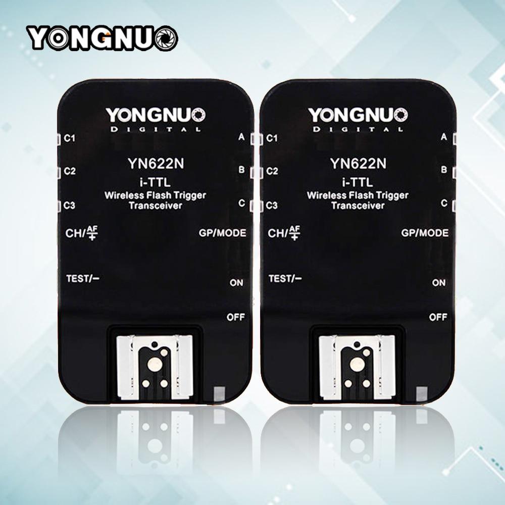 YONGNUO YN-622N YN622N RX Wireless ETTL HSS 1/8000s Flash Trigger Ratio Receiver Transceiver For Nikon DSLR Camera yongnuo yne3 rx