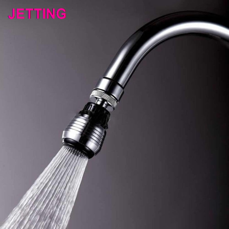 360 Degree Water Bubbler Swivel Head Saving Tap Faucet Aerator Adapter Device Faucet Aerator Water Bathroom Accessories For Home