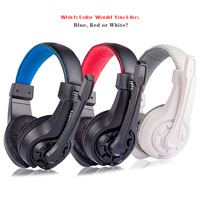 Gaming Headphones With Microphone Lupuss G1 Universal 3 5MM Stereo Headset Heavy Bass For Laptop Computer