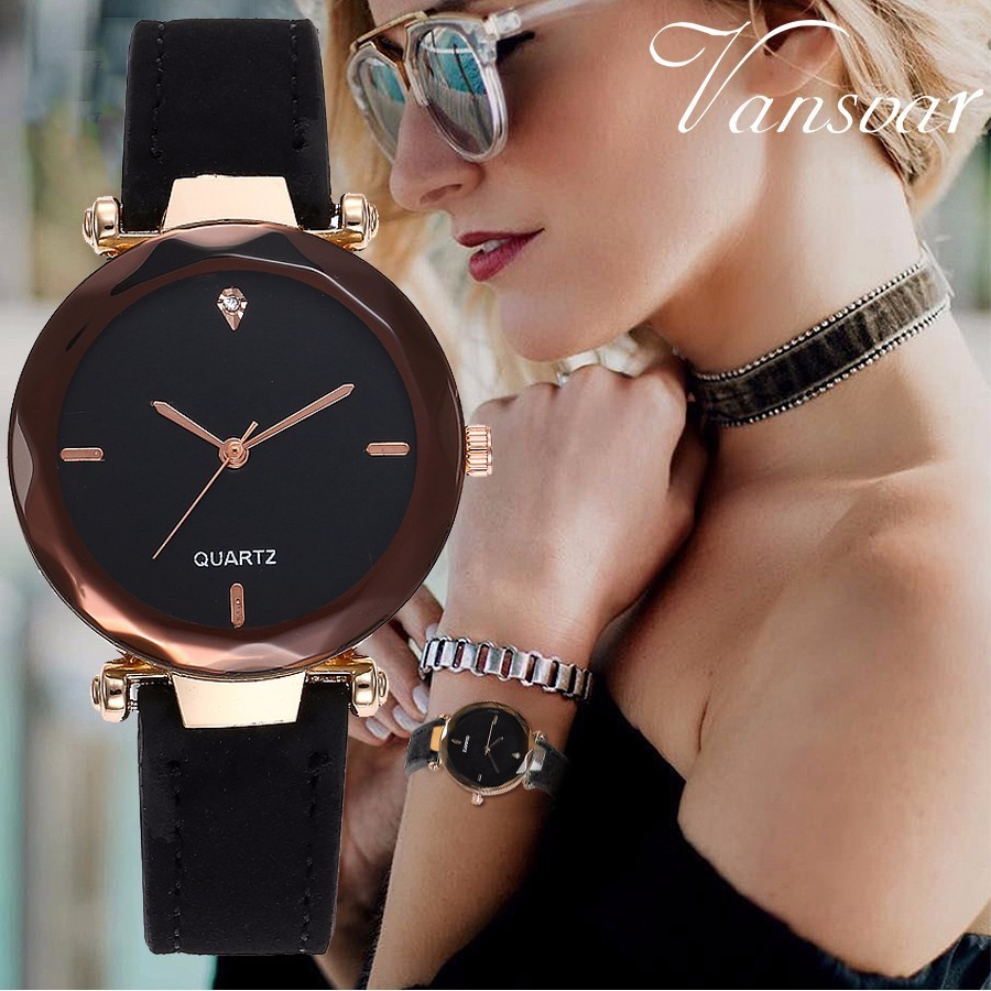 New Ladies Fashion Top Brand Clock Analog Quartz Women Dress Wristwatch Simple Leather Casual Fashion Watches Relogio Feminino new top brand guou women watches luxury rhinestone ladies quartz watch casual fashion leather strap wristwatch relogio feminino
