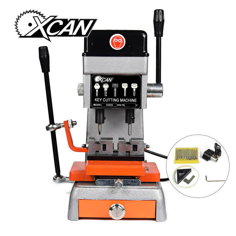 High professional 998B universal key cutting machine 220V/50hz for door and car key machine locksmith tool