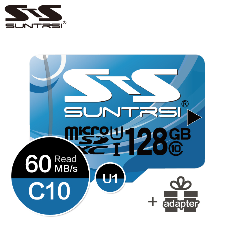 Suntrsi Micro Memory Card 16GB 32GB Class 10 Microsd SD Card 64GB 128GB High Speed TF Card for Camera and Tablets Free Shipping rockbros 2015 oculos ciclismo mtb 3 10016