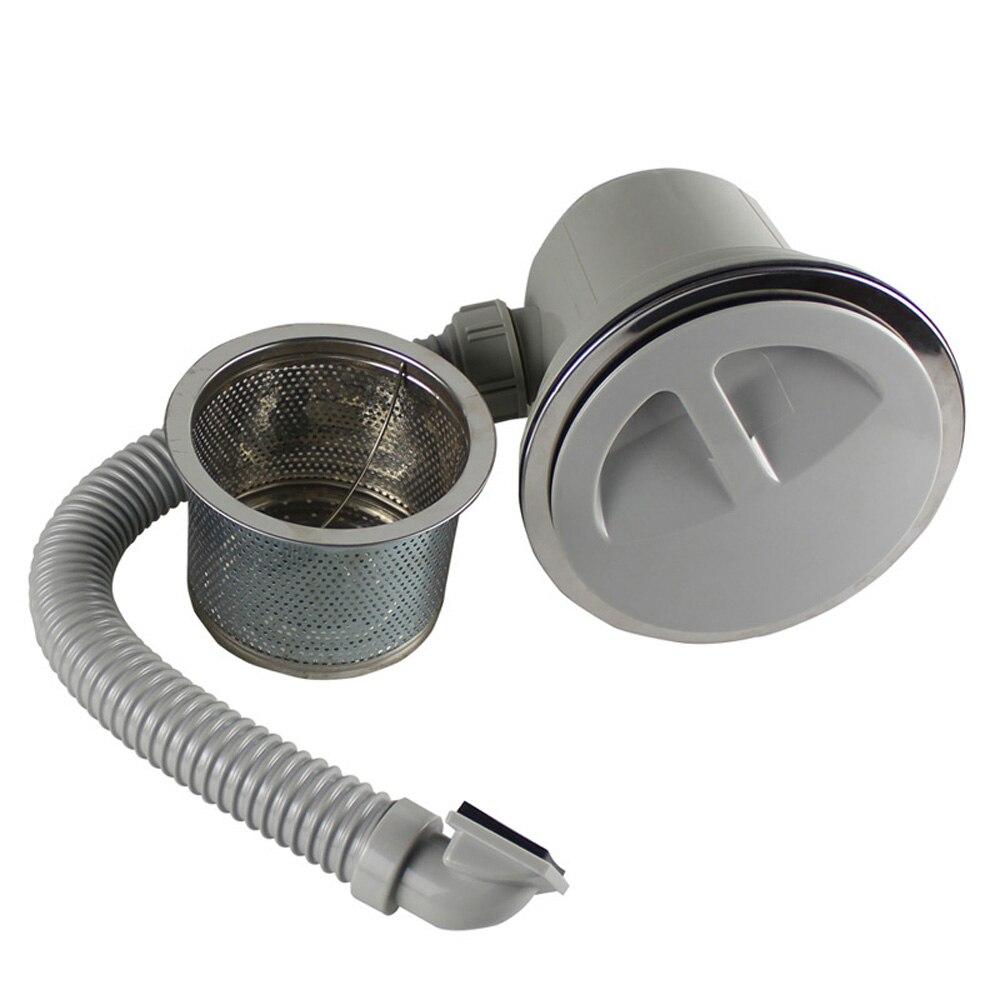 Filtre de vidange pour évier Talea avec filtre anti-débordement filtre pour évier accessoires de cuisine Kit de vidange pour piège à linge