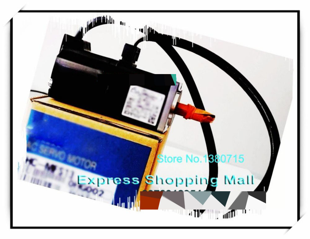New Original HC-MFS13 0.32NM 3000rpm 200V 0.85A 100W AC Servo Motor used servo motor hc kfs053d almost new warranty for three months
