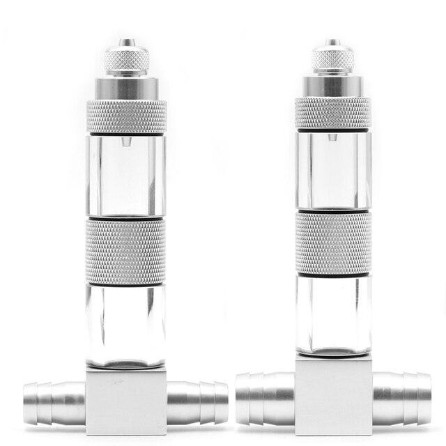 Diffuseur U en aluminium 12/16mm | Tube U externe coude, réservoir de diffusion CO2 atomiseur CO2, Kit de générateur de comptoir à bulles