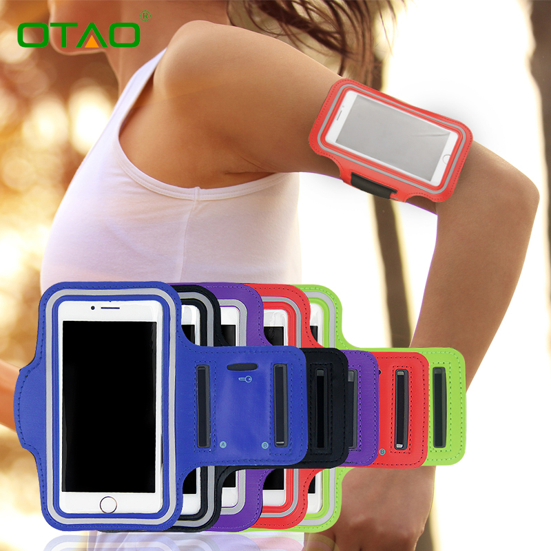 Universal Sport Phone Bag Arm Band Case For iPhone 5 5S SE 6 6S Plus For Samsung Galaxy S6 S7 Edge S6 S5 For Xiaomi Redmi Note 3