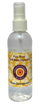 FRee Shipping Natural Rose Hydrosol (Floral Water) 100ml Rosa damascena 100% Pure  5ML