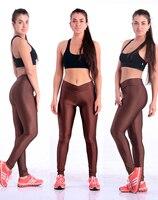 сплошной конфеты неон леггинсы спортивные брюки супер вытянутая в форма завышенная талия гимнастика фитнес балет стиль