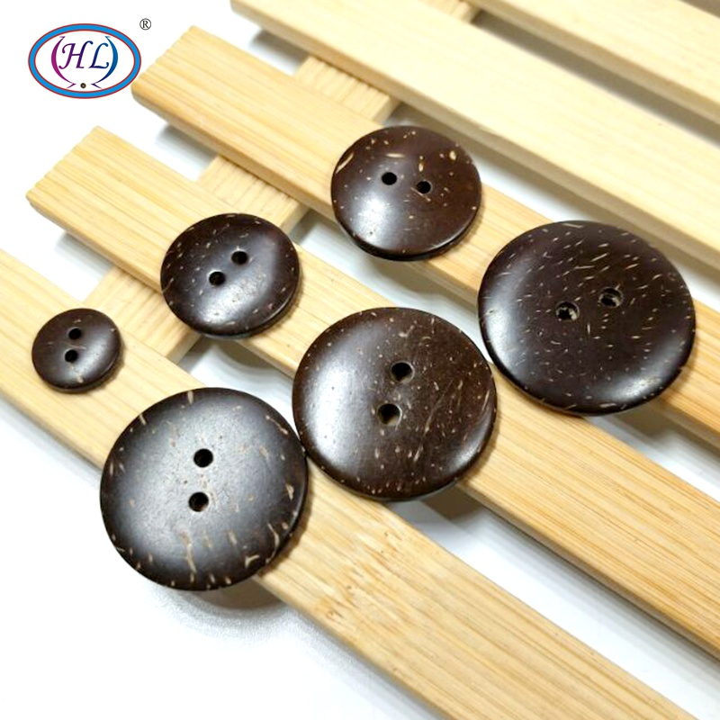 20pcs/50pcs 10/12/20/23/25/28/30MM 7 Size Natural Coconut Buttons Garment Clothing Sewing Accessories DIY Crafts