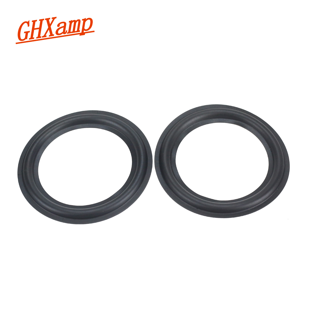 GHXAMP 2PC 4.5 Inch 106A Speaker Rubber Surround Woofer Speaker Repair Accessories Diy General Folding Edge For YAMAHA SC21