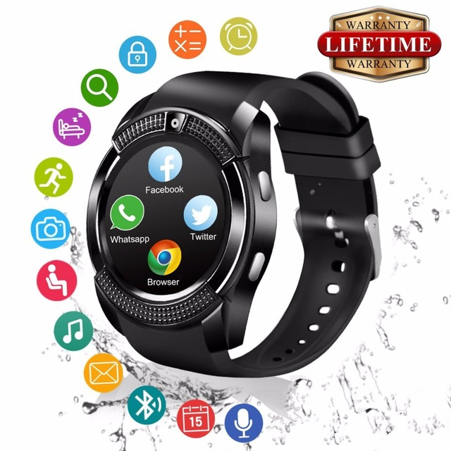74760aff050269 2018 Best Bluetooth Android Smart Watch Touch Screen Sleep Monitor Fashion  Cell Phone Smartwat for Kids Men Women Smat Watch