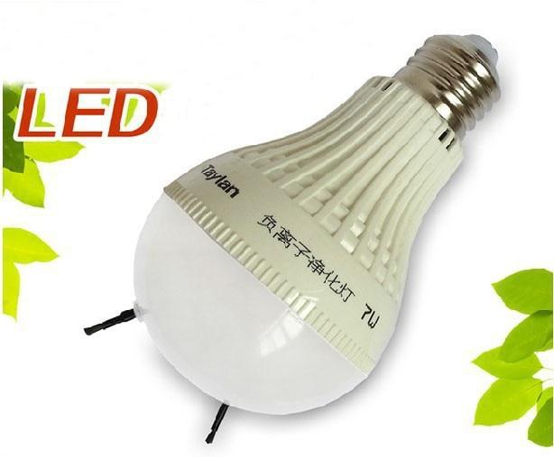 Anion Air Purifier Product ~ E pet reptile led ion air purify light bulb with anion