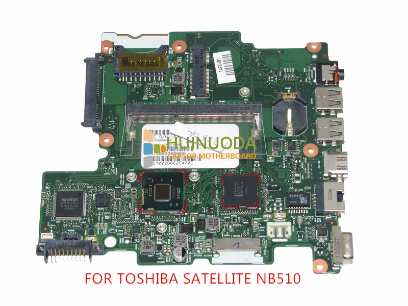 6050A2488301-MB-A02 SPS V000268060 Laptop Motherboard For toshiba satellite NB510 DDR3 SR0W1 n2600 cpu Onboard Mainboard