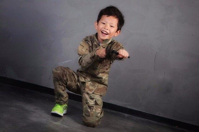 40d872cfd7182 Emersongear Combat Uniform For 6Y-14Y Children Emerson Kids BDU Military  Army Tactical Gear Hunting Multicam EM6929